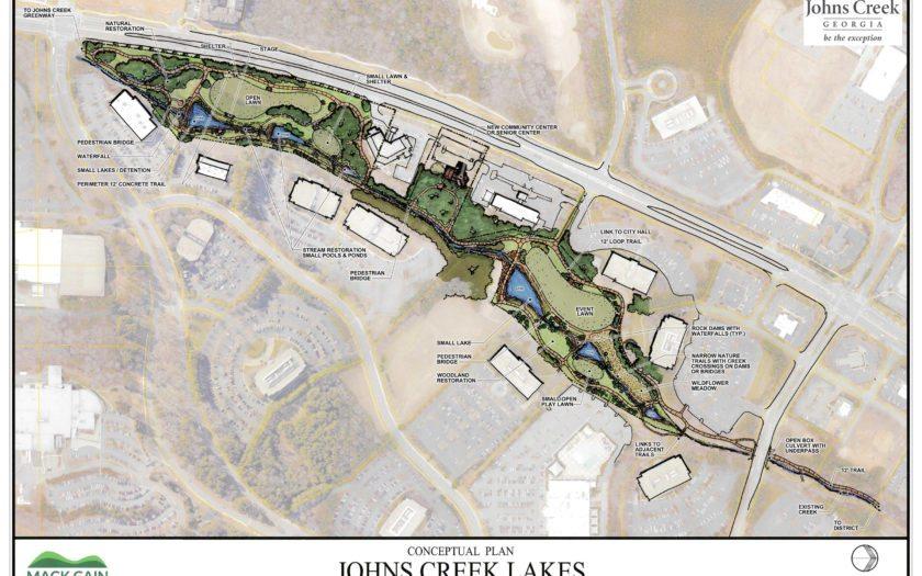 Landscape Architecture | Johns Creek Parks and Rec Concept Plan