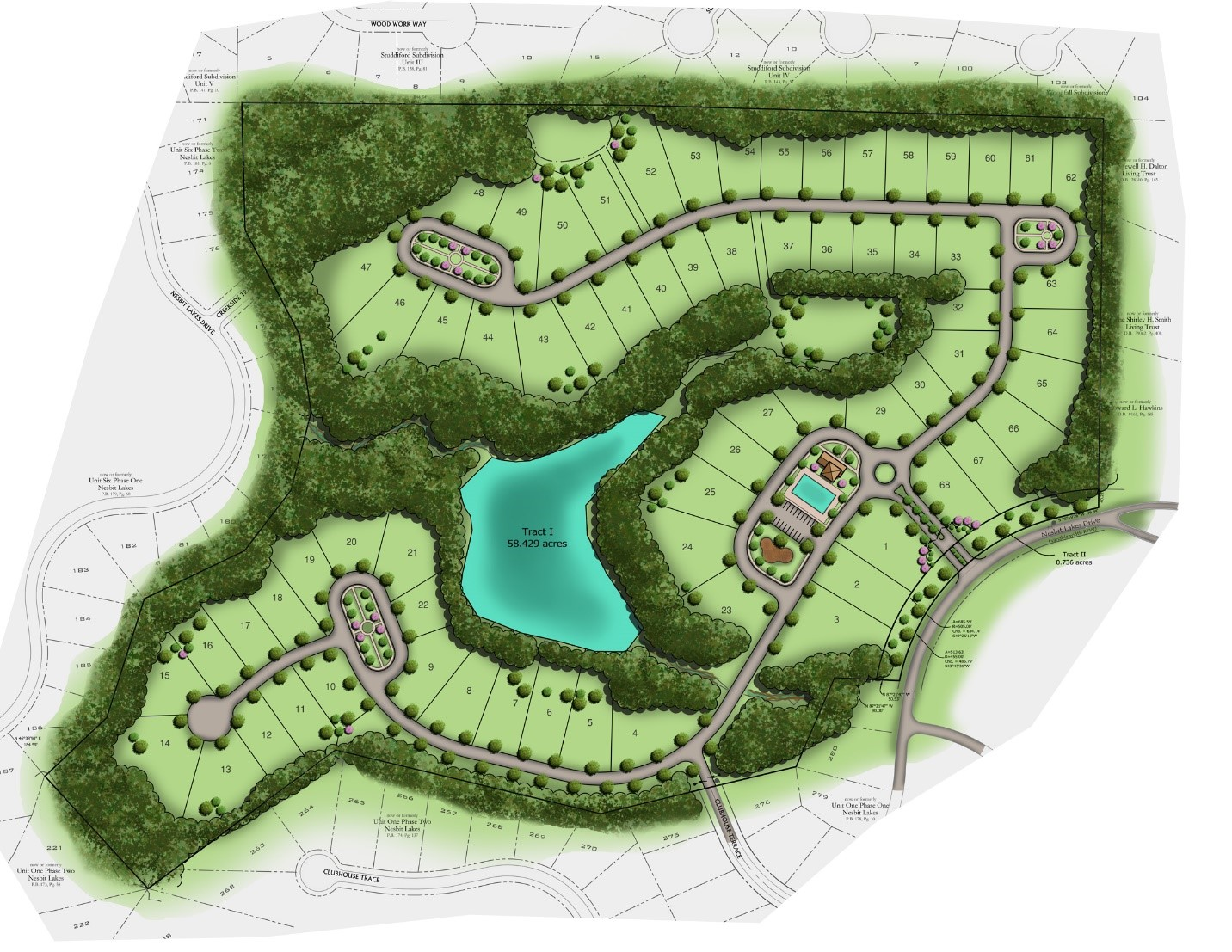 Concept Plan Briarstone At Nesbit Lakes Travis Pruitt