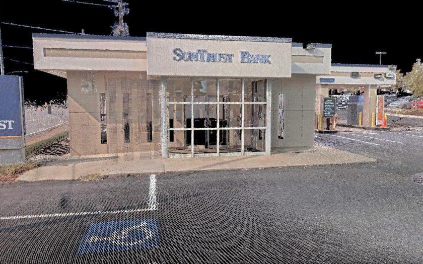 Laser Scanning and Topographic Survey | SunTrust Bank | GA