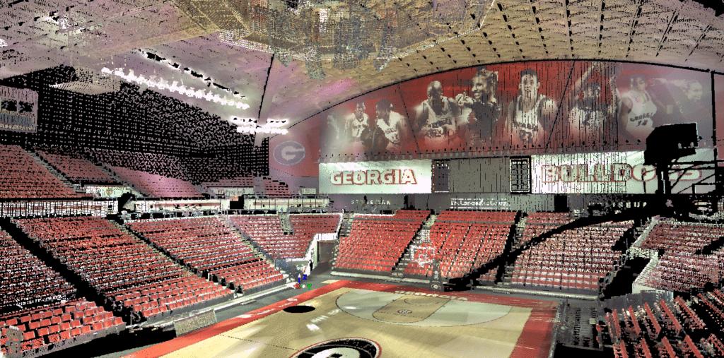 Stegeman Coliseum High Resolution Scan Travis Pruitt And